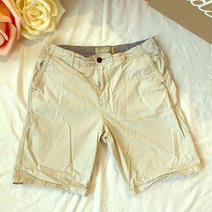 Lucky Brand Men's Khaki Shorts Size 34